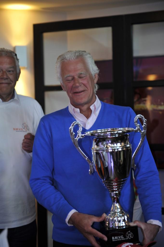 Frank Tempelman van Greetz wint de 1e BMVG wisseltrofee