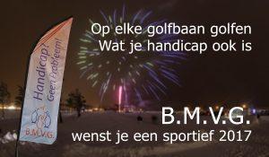 BMVG wenst je een sportief 2017