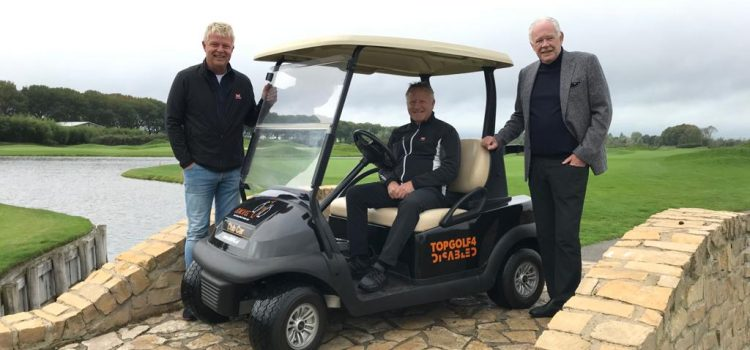 Topgolf4Disabled buggy voor The Dutch